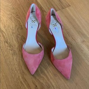 Vince Camuto D'orsay Pink Pumps